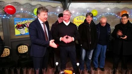MAPPANO - La comunità ha salutato il commissario Roberto Mattiello...a Borgaro!