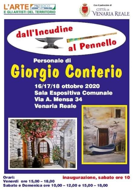 VENARIA - «Dallincudine al pennello»: la mostra di Conterio, tra i più famosi fabbri di Torino
