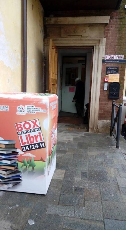 DRUENTO - Una biblioteca aperta 24 ore su 24