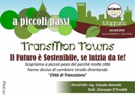 MAPPANO - TRANSITION TOWNS: Stasera si parlerà di alimentazione e salute