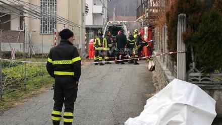 TRAGEDIA A CAFASSE - Operaio muore schiacciato da un muro: inutili tutti i soccorsi - FOTO e VIDEO