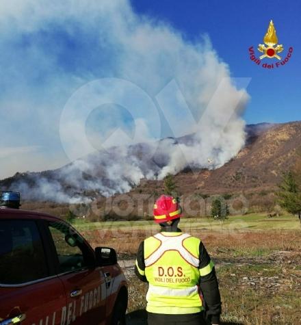 A FUOCO IL MUSINE - Pompieri ancora in azione: potrebbe essere un atto doloso - FOTO