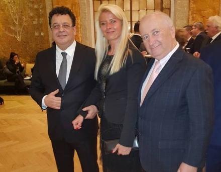 DRUENTO - La consigliera Mihaela Gabor alla festa per i 100 anni della Romania