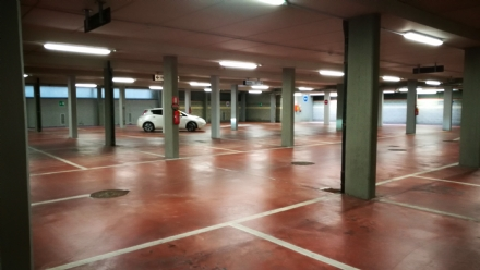 VENARIA - Taglio del nastro per il parcheggio sotterraneo Pettiti - LE FOTO