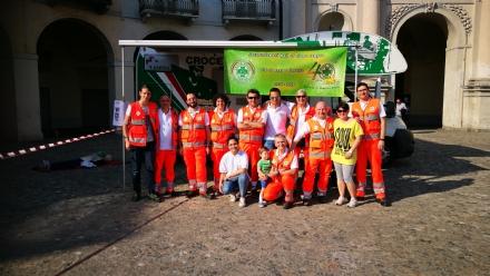 VENARIA - Tanti auguri Croce Verde: i festeggiamenti per i suoi primi 40 anni