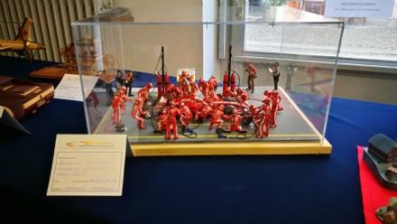 VENARIA - Nella ex biblioteca di via Mensa la mostra di modellismo della «296 Model»