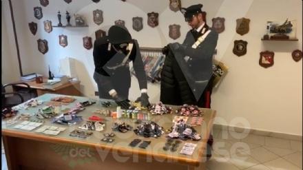 MAPPANO - Vendeva borse e giubbotti falsi nei mercati: arrestato