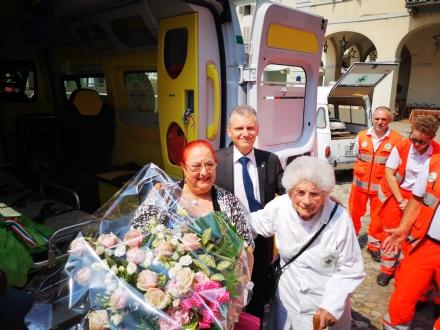 VENARIA - Un defibrillatore e unambulanza per i 40 anni della Croce Verde Torino