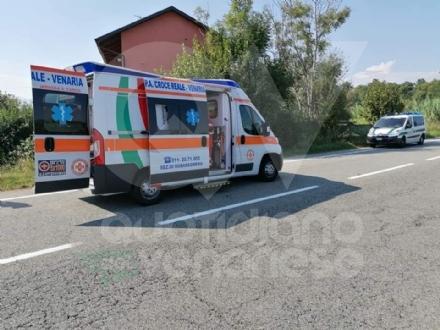 VENARIA - Cade dalla bici lungo la provinciale: 45enne in gravi condizioni al Cto