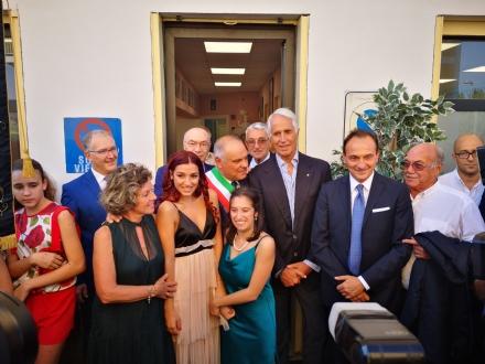 DRUENTO - Il presidente del Coni Malagò allinaugurazione della «Special Angels Disability Dance School»