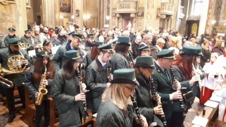 VENARIA - I musici venariesi del Giuseppe Verdi hanno festeggiato Santa Cecilia - FOTO