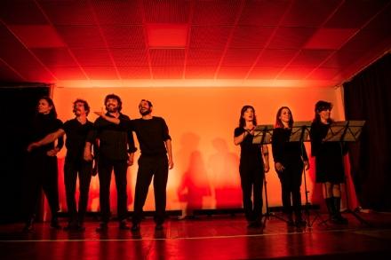 COLLEGNO - Successo per il «Teatro di giornata» al Centro Centeleghe - FOTO