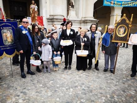 VENARIA - Città in festa per San Giuseppe, protettore delle famiglie, dei papà e degli artigiani
