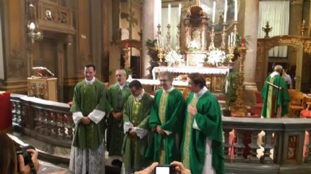 VENARIA - La comunità religiosa ha accolto don Danilo e don Enrico