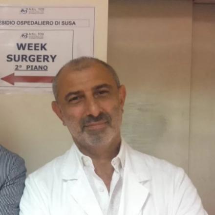 VENARIA - Lospedale di Susa ricorda con una targa il dottor Amir