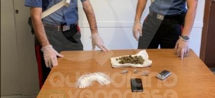 CASELLE - Cede la marijuana a un giovane: arrestato il gestore del chiosco del Prato Fiera