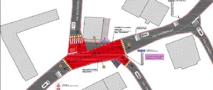CAFASSE - Più sicurezza lungo la sp182 grazie ad un rallentatore rialzato in via Garibaldi