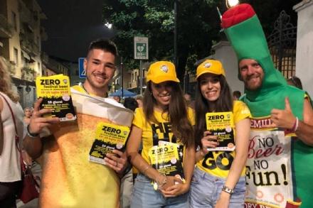 PIANEZZA - Fino al 29 in via Torino sarà tempo di «Zero Festival Beer»
