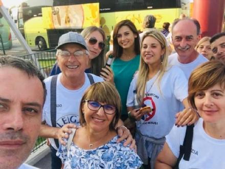 RIVOLI - La Lega Rivoli torna da Pontida: «No al Governo M5S-Pd: vogliamo elezioni subito»