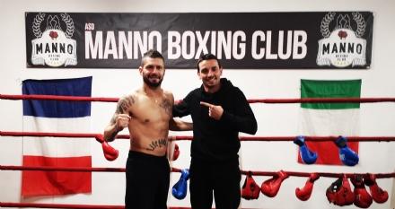 SPORT - Massimiliano Ballisai e Benoit Manno: quando la boxe è di casa a Venaria