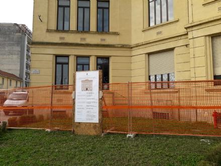 VENARIA - Partiti i lavori di manutenzione della scuola De Amicis