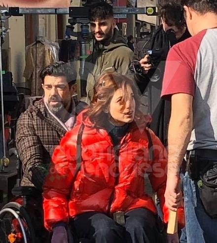 VENARIA - Il centro città set del film «Corro da te» con Pierfrancesco Favino e Miriam Leone FOTO