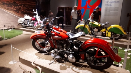 VENARIA - Le moto più belle esposte alla Reggia grazie alla mostra «Easy Rider»