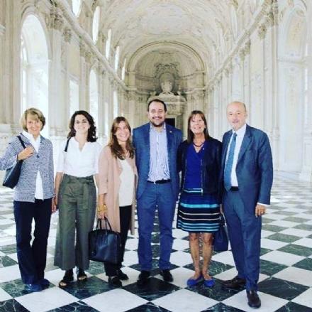 VENARIA - Lassessore regionale alla Cultura in visita alla Reggia: «Venaria un fiore allocchiello»