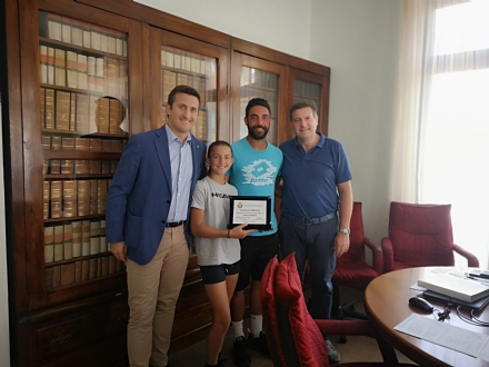 BORGARO - Campionessa regionale di tennis a 11 anni: premiata Elisa Casella