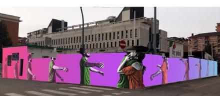 COLLEGNO - Sei nuovi murales per abbellire la città - LE FOTO
