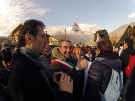 VENARIA - Falcone annuncia la partecipazione alla manifestazione «No Tav» dell8 dicembre