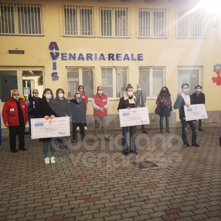VENARIA - LAvis premia Erika, Virginia e Federico: eccellenze a scuola e nella donazione - FOTO