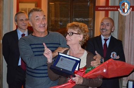BORGARO - Domani i funerali di Carla Maroso, la madrina del Toro Club Borgaro Granata