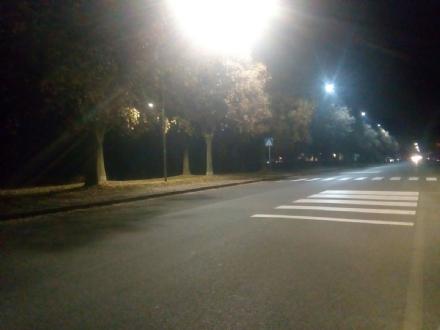 VENARIA - Sicurezza in via Barbi Cinti: finalmente è arrivata la nuova illuminazione