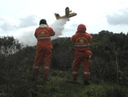 VALLI - Da oggi entra in vigore lo stato di «massima pericolosità» per gli incendi boschivi