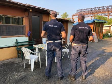 COLLEGNO - Sgomberata la baraccopoli nellex acciaieria Mandelli