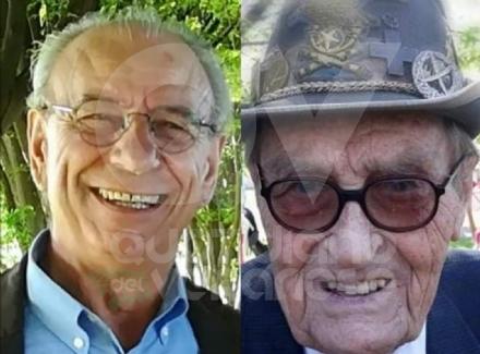 CASELLE - La città deve dire addio al Cavalier Giacomo Carlo Guglielmetti e a Michele Faugno