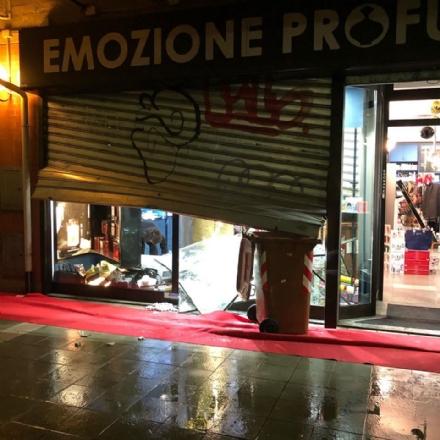 GRUGLIASCO - I ladri tornano a colpire: preso di mira un negozio di profumi in via Spanna
