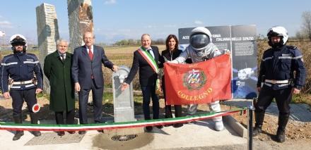 COLLEGNO - Inaugurata la Fontana dello Spazio nel Parco della Dora