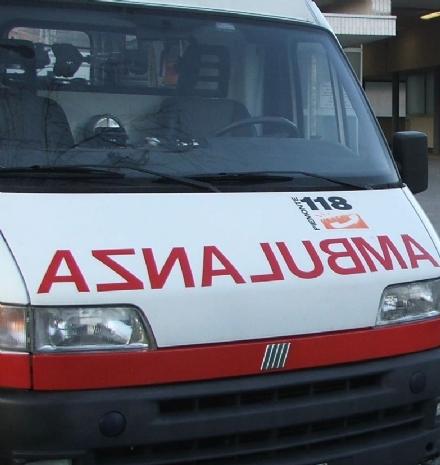 GIVOLETTO - Ciclista investito da un suv lungo la provinciale per Brione: in ospedale