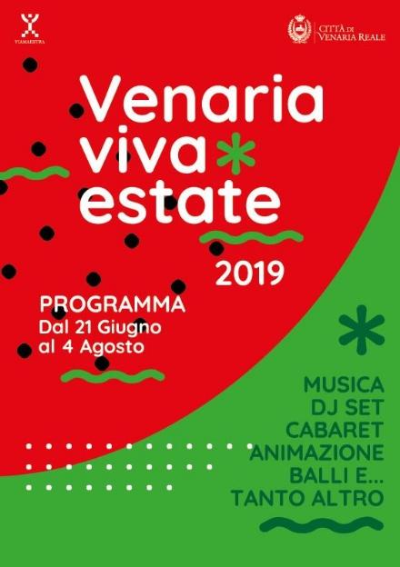 VENARIA - Torna il «Venaria Viva Estate»: 28 giorni di musica, cabaret e intrattenimento