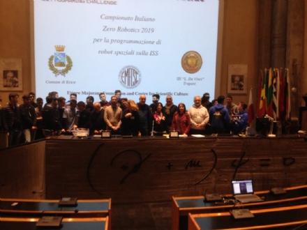 RIVOLI-VENARIA - Il Natta e lo Juvarra terzi alla finale del Campionato Italiano Zero Robotics