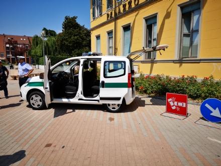 BORGARO - Un Fiat Qubo e le body-cam: ecco le novità per la Polizia Locale