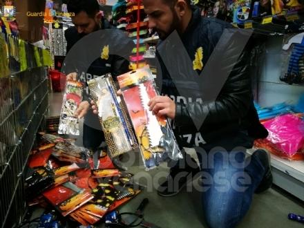 GRUGLIASCO - Sequestrati abiti da carnevale, giocattoli e trucchi potenzialmente pericolosi