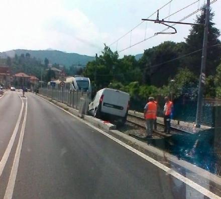 TORINO-CERES: Lincidente stradale manda in tilt la ferrovia: treni bloccati e autobus sostitutivi
