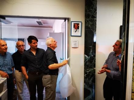 VENARIA - Dedicata a Silvano Qualizza la sala conferenze del Settore Urbanistica di via Goito