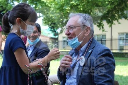 COLLEGNO-GRUGLIASCO - I bambini dei centri estivi hanno ringraziato i medici dellAsl To3 - FOTO