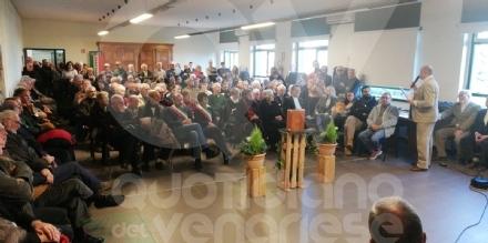 GIVOLETTO - In sala consiliare la commemorazione di Angelo Agazzani - FOTO