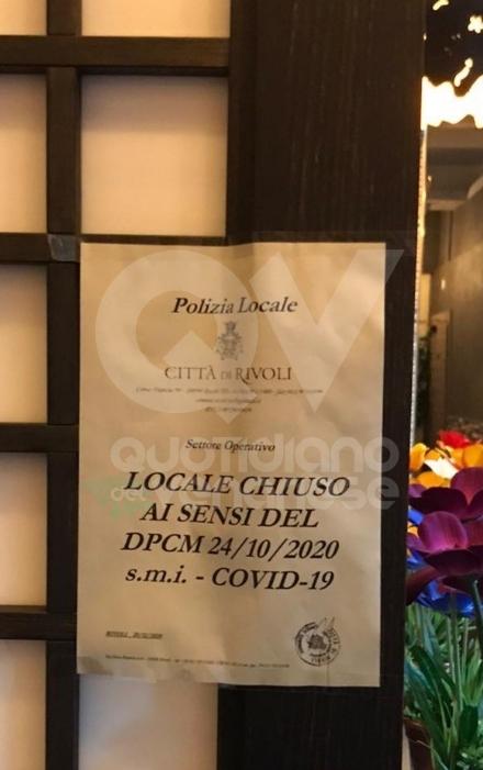 RIVOLI - Troppe persone contemporaneamente nel ristorante cinese: chiuso cinque giorni
