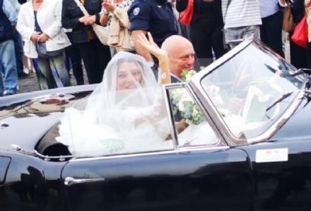 VENARIA-BORGARO - Nella chiesa di SantUberto si è sposata Cristina Chiabotto